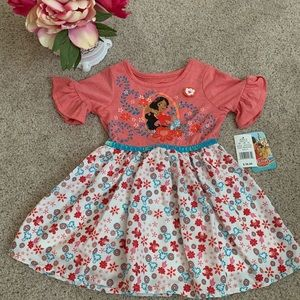 NWT Disney Elena of Avalor 3T Dress 👗🗡🌸